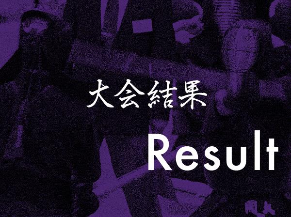 【結果報告】第72回国民体育大会京都府予選会(2017.6.25)