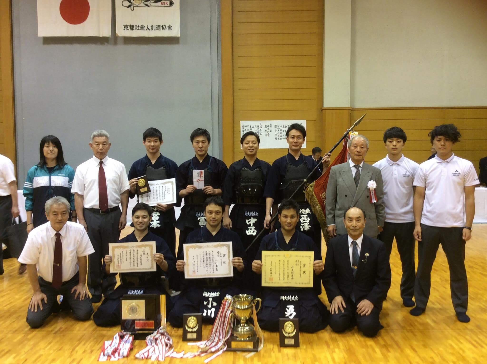 【結果報告】2017年京都社会人剣道大会