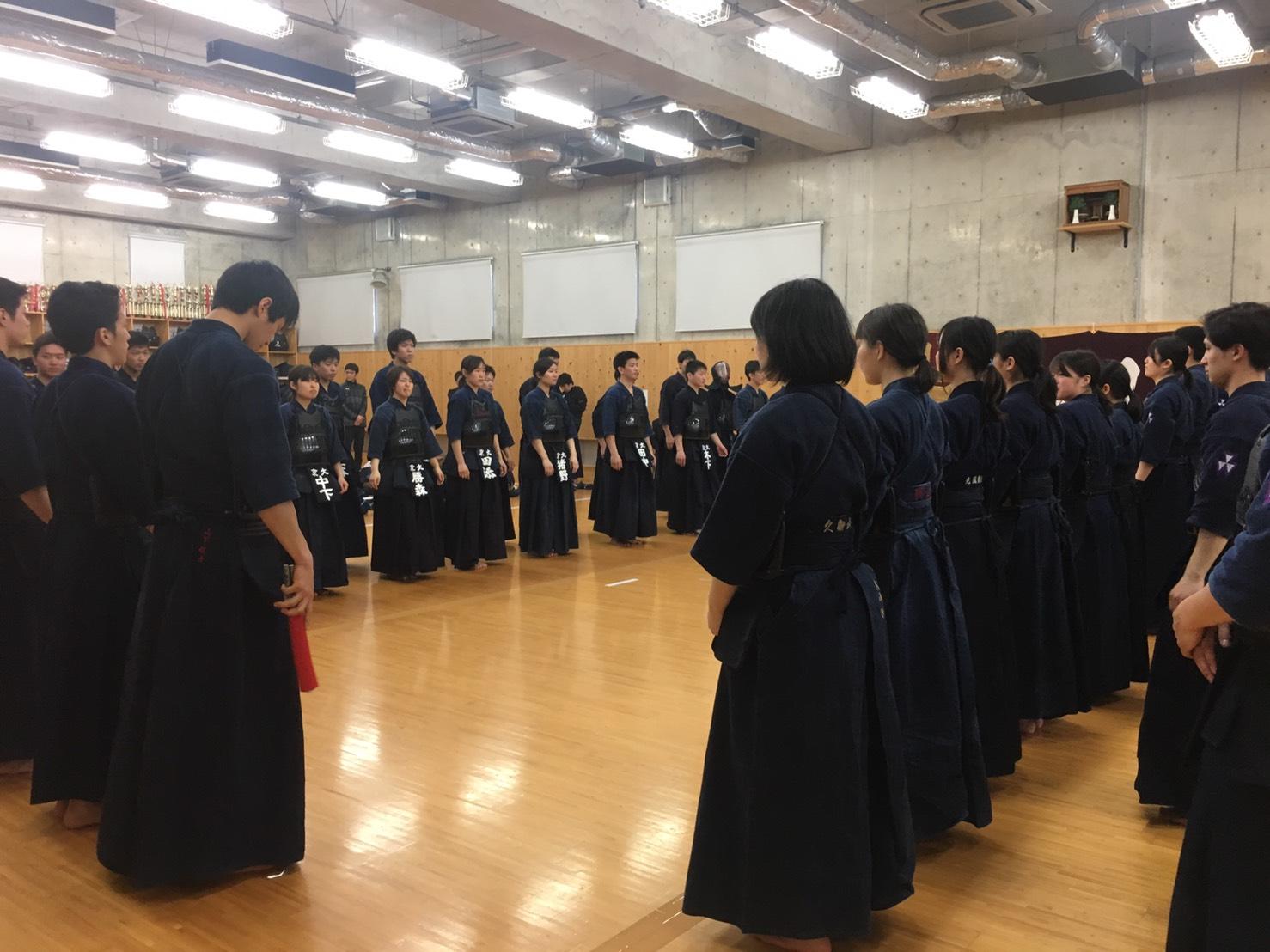 【結果報告】京同立定期戦(2018.4.8)