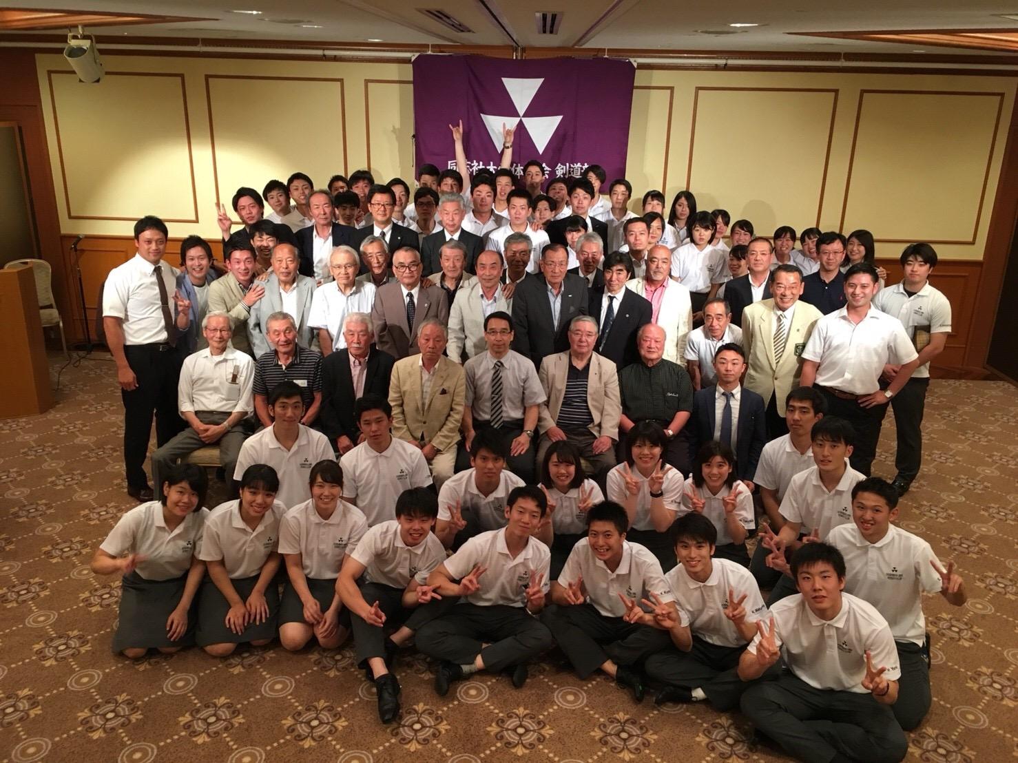 OB稽古会&OB総会&新入生歓迎会!(2018.06.30)