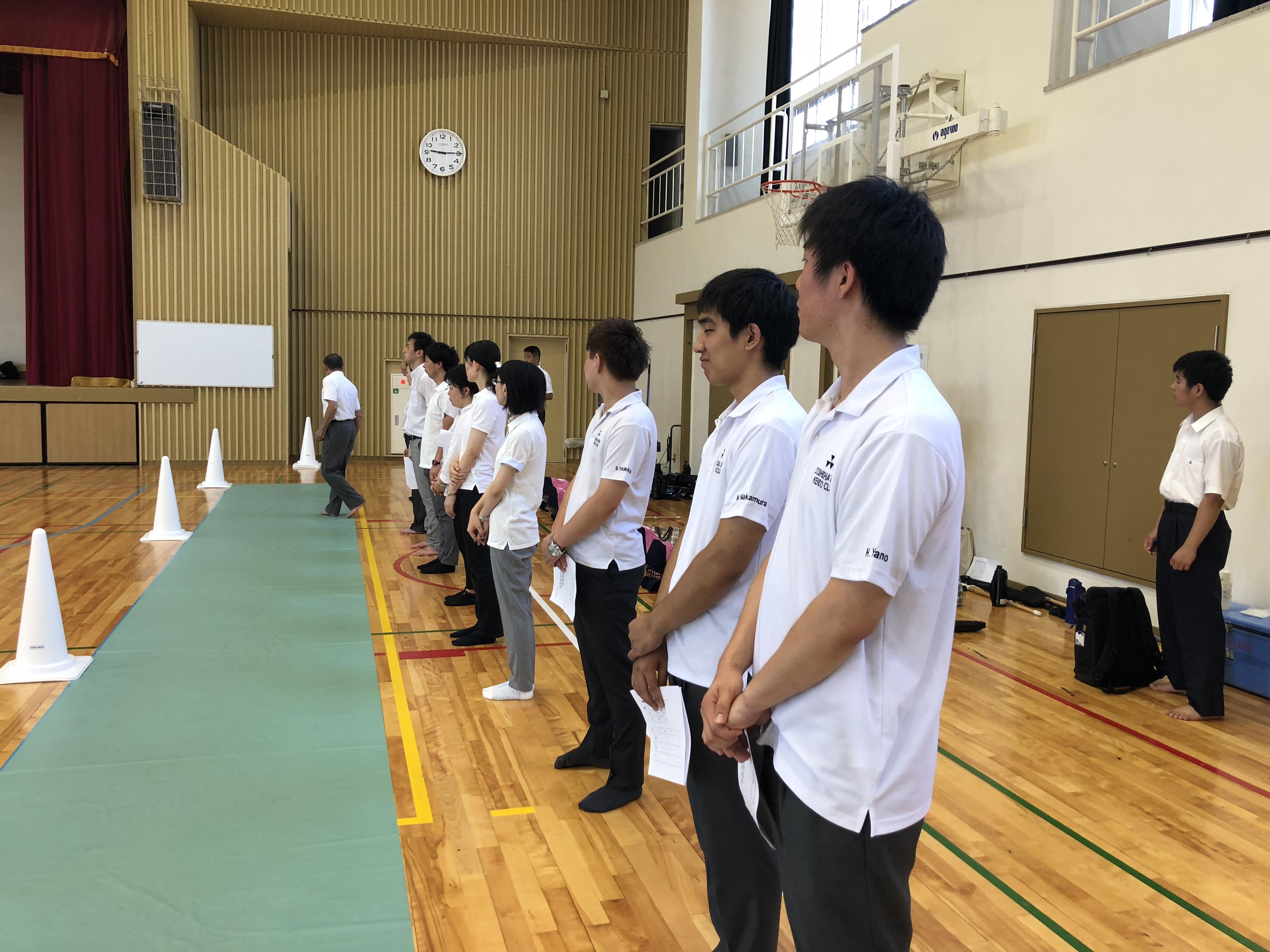【活動報告】相楽地方中学 審判!(2018.07.21)