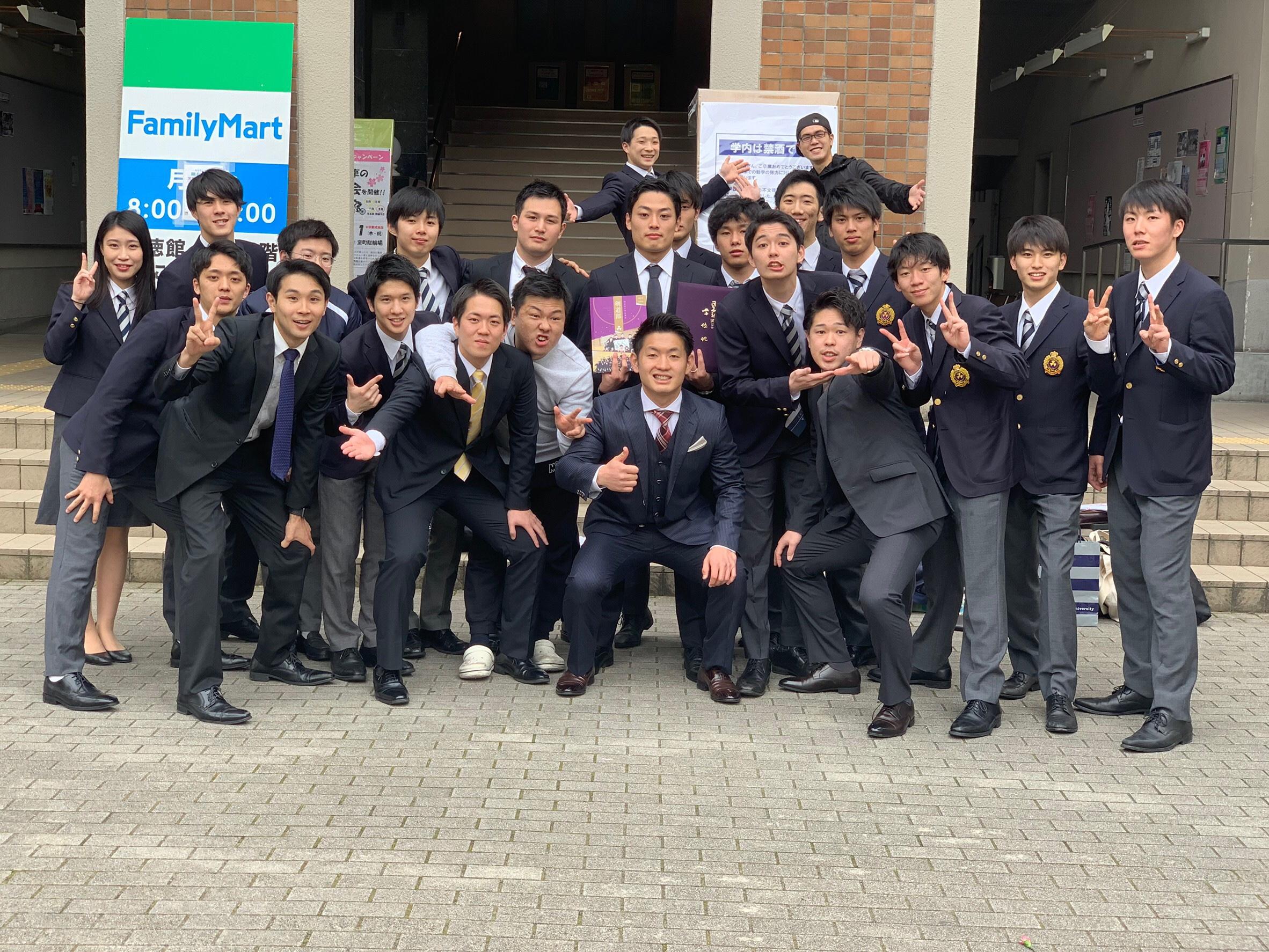 ご卒業おめでとうございます!!(2019.03.20~03.22)