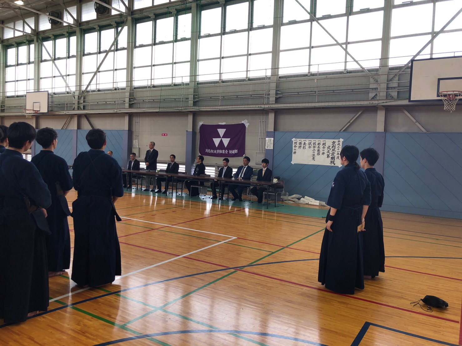 【結果報告】京同立定期戦(2019.4.21)