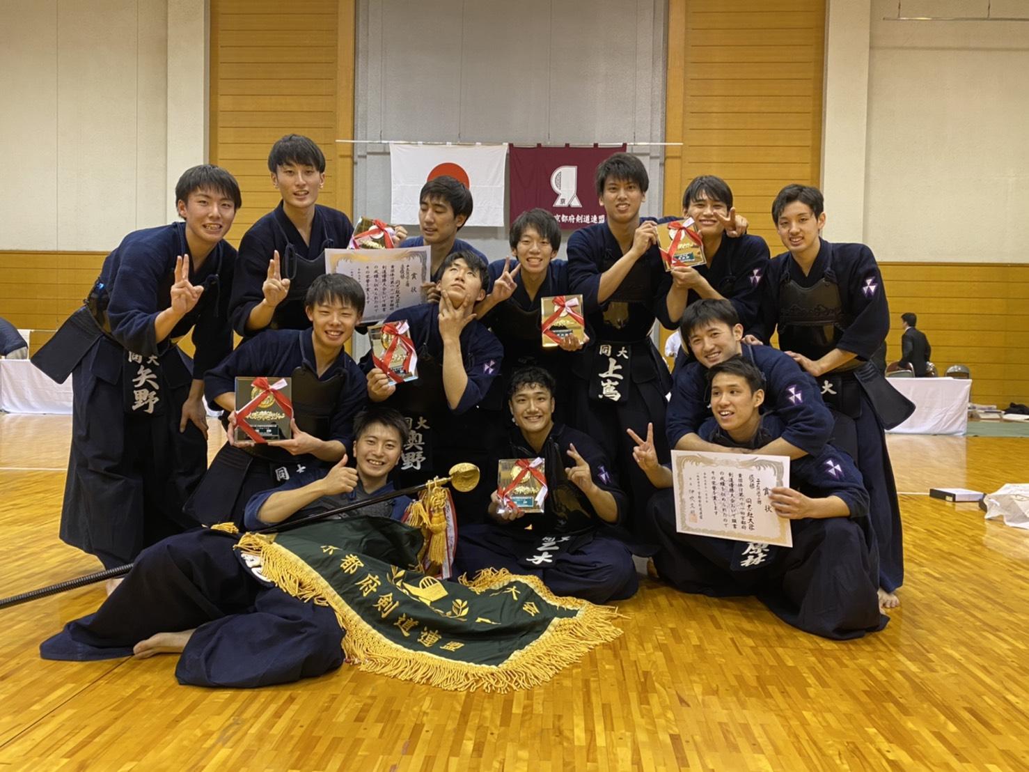 【結果報告】第61回京都府剣道優勝大会(2019.11.10)