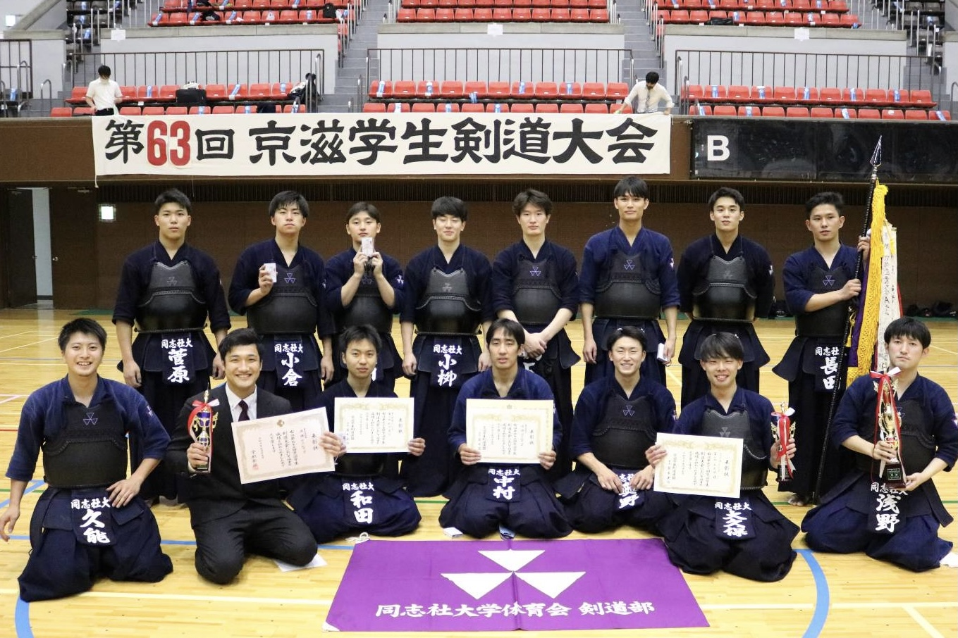 【大会結果】京滋学生剣道大会(2021.6.17)